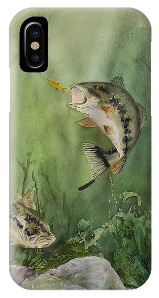 Bass On The Bottom IPhone Case