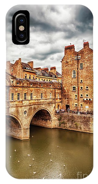 IPhone Case featuring the photograph Bath Historical Bridge  by Ariadna De Raadt