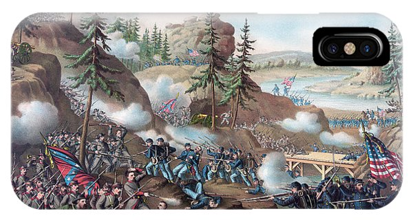 Allison iPhone Case - Battle Of Chattanooga by American School