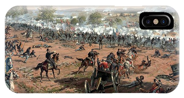 The iPhone Case - Battle Of Gettysburg by War Is Hell Store