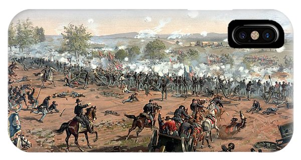 North iPhone Case - Battle Of Gettysburg by War Is Hell Store