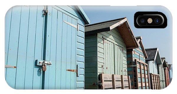 Beach Huts Vi IPhone Case