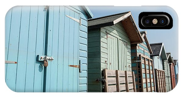Beach Huts Vi IPhone Case