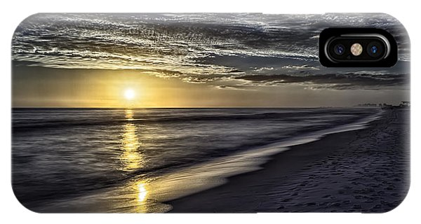 Beach Sunset 1021b IPhone Case