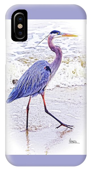 Beach Walker IPhone Case