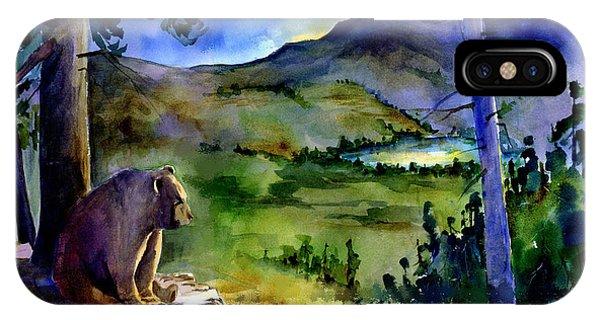 Bearly Light At Castle Peak IPhone Case