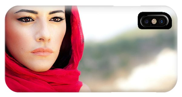 Beautiful Arabic Woman IPhone Case