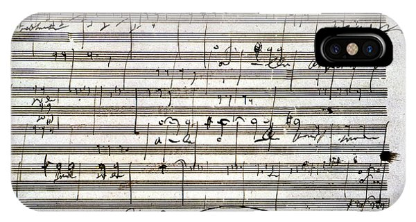 Beethoven Manuscript IPhone Case