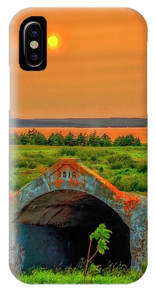 Bell Island Sunset IPhone Case