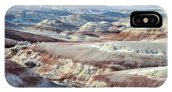 Bentonite Clay Dunes In Cathedral Valley IPhone Case