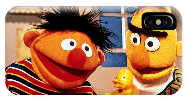 Bert And Ernie IPhone Case