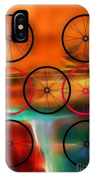Bicycle Wheel Collection IPhone Case