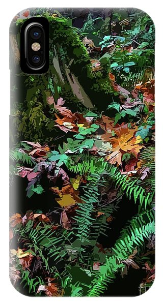 Big Leaf Maple Leaves IPhone Case