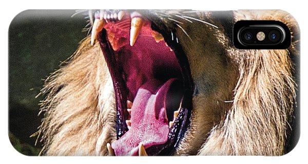 Big Yawn IPhone Case