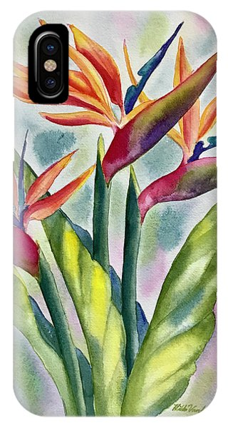 Bird Of Paradise Flowers IPhone Case