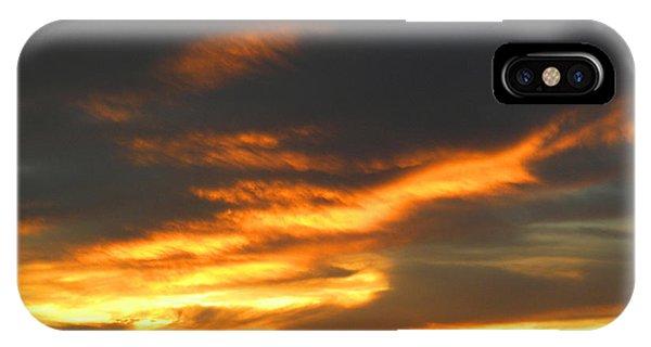 Blazing Carolina Sunset IPhone Case