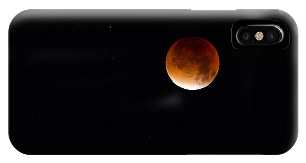 Blood Moon Super Moon 2015 IPhone Case