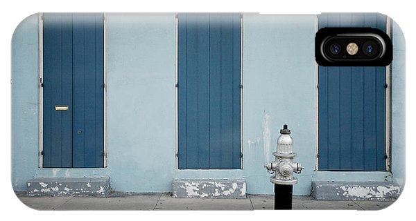 Blue And Silver At 1243 IPhone Case