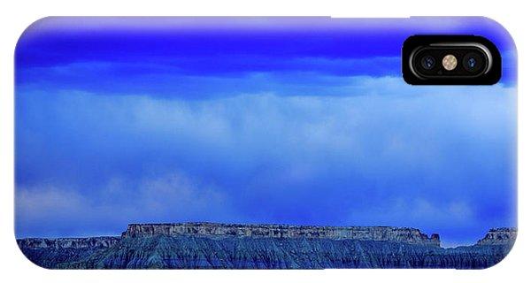 Blue Badlands IPhone Case