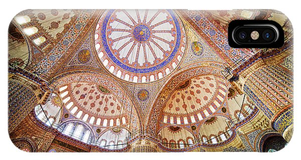 Blue Mosque Interior IPhone Case
