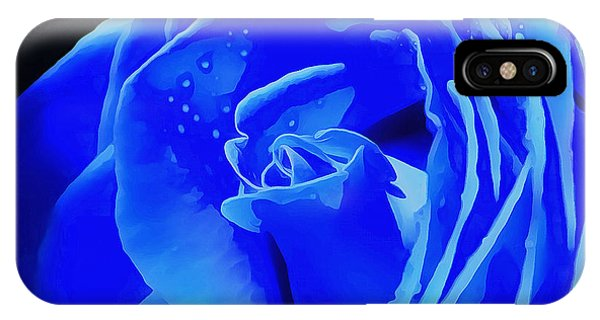 Blue Romance IPhone Case