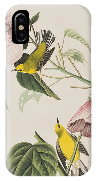 Blue-winged Yellow Warbler  IPhone Case