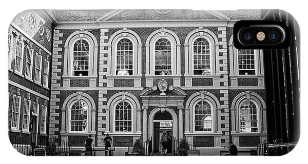 bluecoat chambers former school Liverpool Merseyside UK IPhone Case