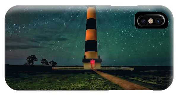 Bodie Island Night IPhone Case