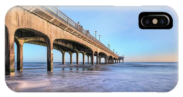 Bournemouth iPhone Case - Boscombe - England by Joana Kruse