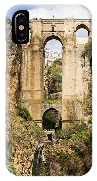Bridge In Ronda IPhone Case