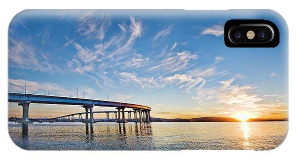 Bridge Sunrise IPhone Case