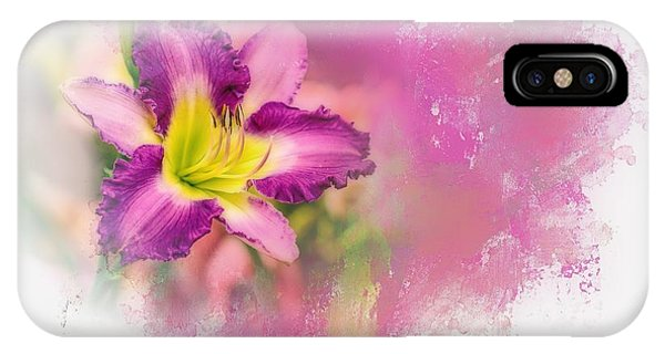 Bright Lily IPhone Case