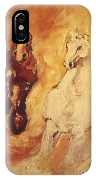 Bringers Of The Dawn Section Of Mural IPhone Case