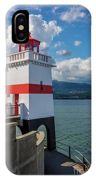 Brockton Point Lighthouse IPhone Case