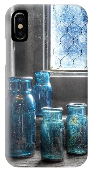Bromo Seltzer Vintage Glass Bottles IPhone Case