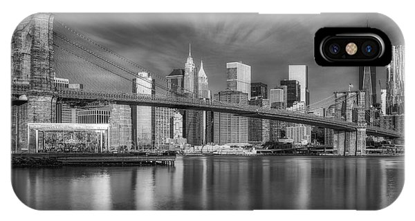 Brooklyn Bridge From Dumbo IPhone Case
