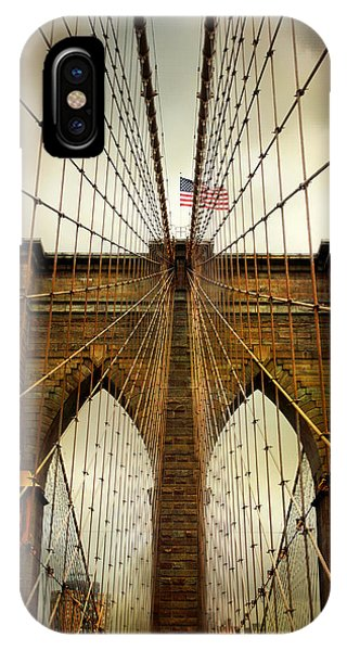 Brooklyn Bridge Twilight IPhone Case