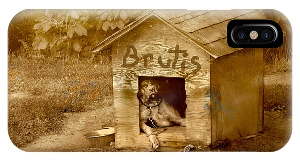 Brutis IPhone Case