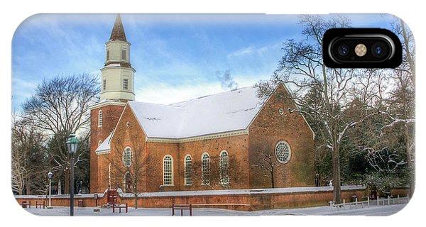 Bruton Parish In Winter II IPhone Case