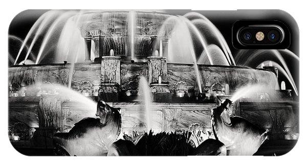 Buckingham Fountain At Night IPhone Case