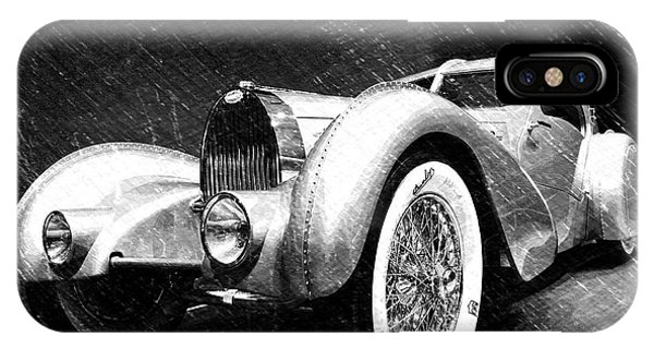 Dick Goodman iPhone Case - Bugatti Type 57 Aerolithe by Dick Goodman