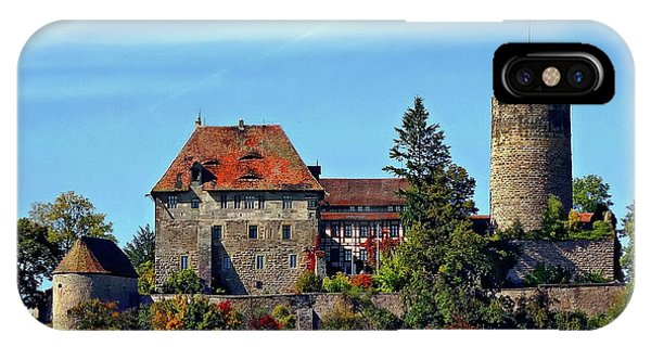 Burg Colmberg IPhone Case