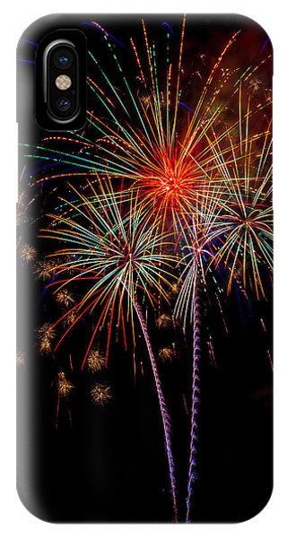 Fireworks iPhone Case - Bursting In Air by Garry Gay