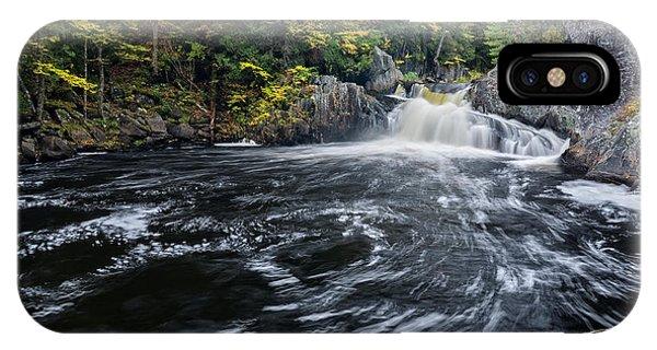 Buttermilk Falls Gulf Hagas Me. IPhone Case