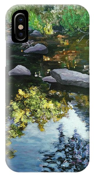 By The Creek IPhone Case