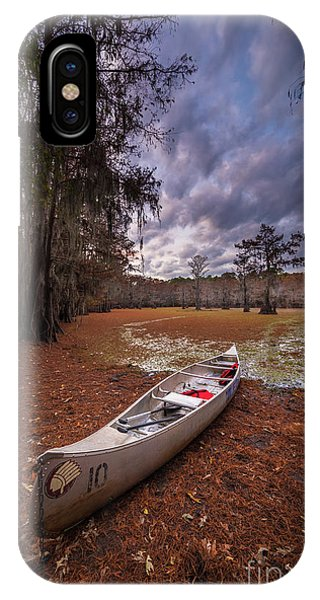 Caddo Canoe IPhone Case