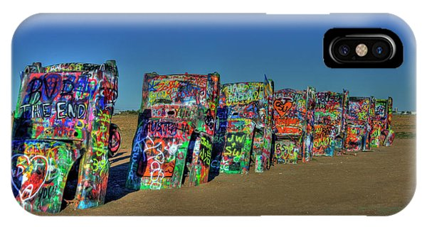 Cadillac Ranch 2 IPhone Case