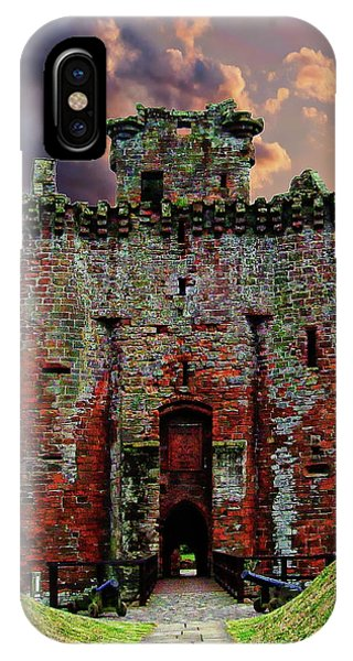 Caerlaverock Castle IPhone Case