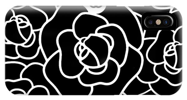 Glamour iPhone Case - Camellia Cc by Tres Chic