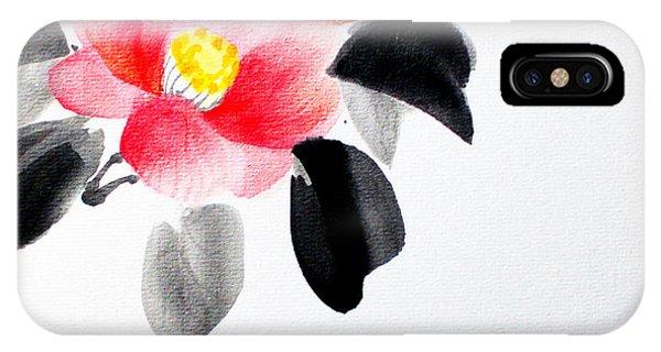 Camellia / Tsubaki IPhone Case